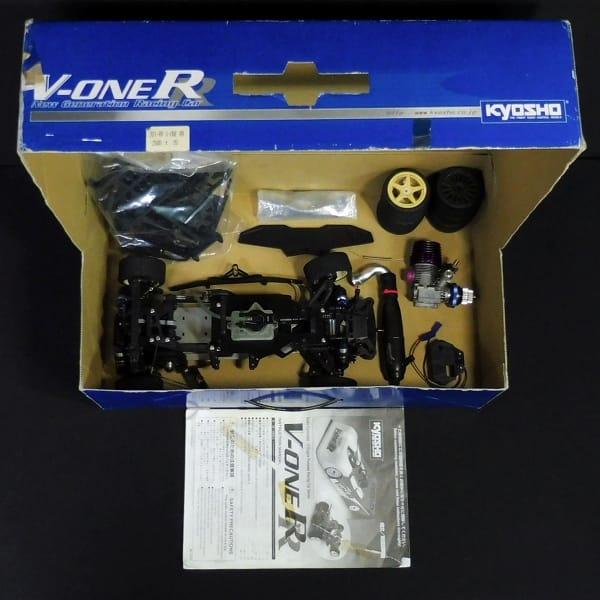 京商 1/10 V-ONE RR シャーシ + NOVAROSSI M12 エンジン