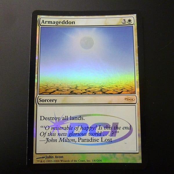 MTG ハルマゲドン Armageddon Foil ジャッジ プロモ