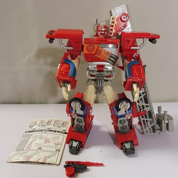 TF カーロボット スーパーファイヤーコンボイ / 消防車