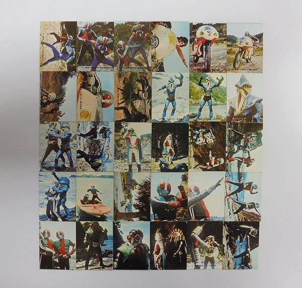 カルビー 旧 仮面ライダー カード 222 - 251 コンプ