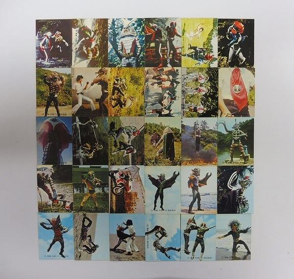 カルビー 旧 仮面ライダー カード 252 - 283 セミコンプ
