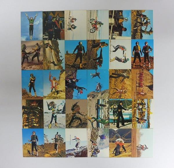 カルビー 旧 仮面ライダー カード 415 - 445 セミコンプ