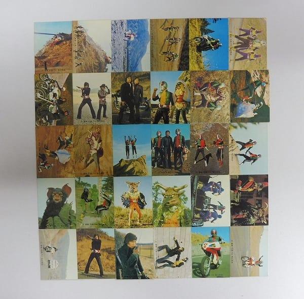 カルビー 当時物 旧 仮面ライダー カード 449 - 492