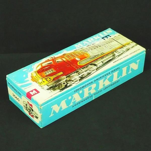 メルクリン HOゲージ 3060 機関車 サンタフェ 鉄道模型