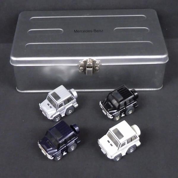 チョロQ メルセデスベンツ G-CLASS 4台セット 缶ケース