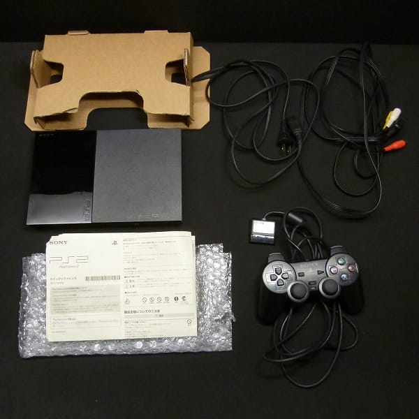 SONY PS2 SCPH-90000 CB チャコールブラック 本体_2