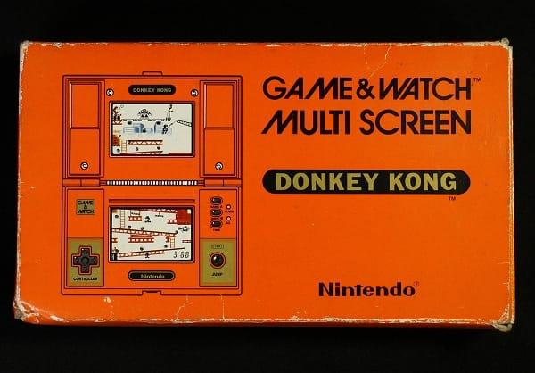 任天堂 ゲームウオッチ DK-52 ドンキーコング / ウォッチ