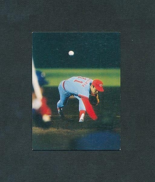 カルビー プロ野球カード 79年 池谷 チャンピオン