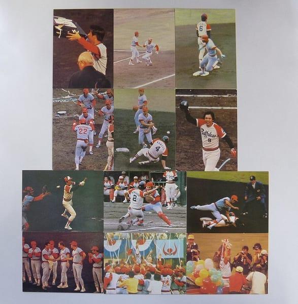 カルビー プロ野球カード 79年 日本シリーズ 12種