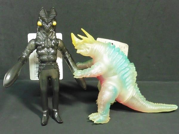 ウルトラ怪獣 ソフビ 分身 バルタン星人 透明 ネロンガ