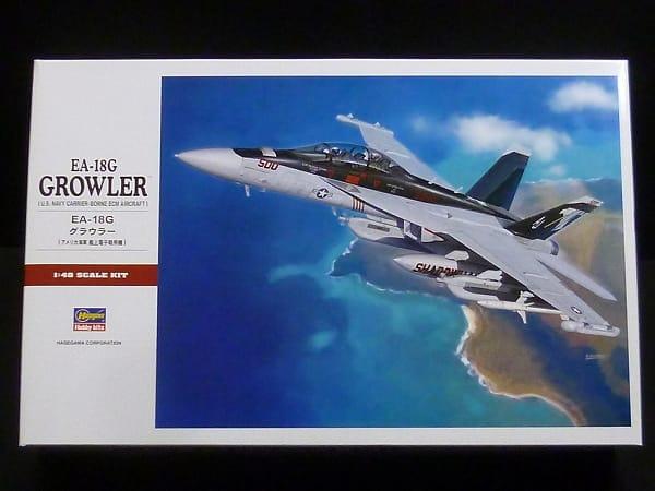 ハセガワ 1/48 EA-18G グラウラー アメリカ海軍