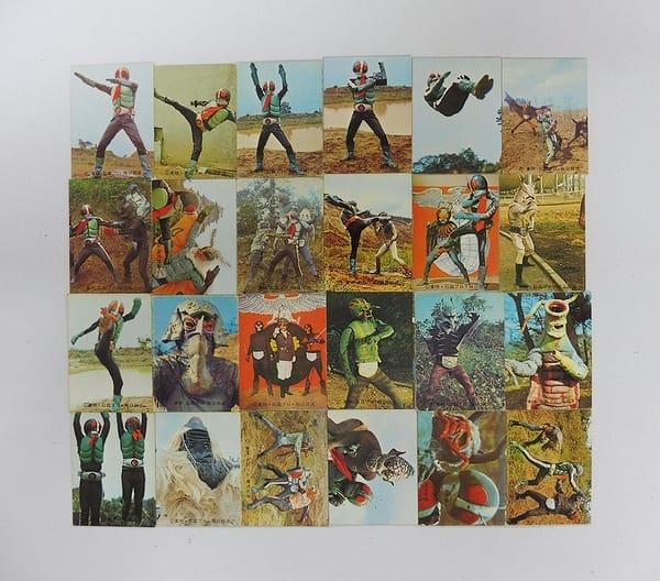 カルビー 当時物 旧 仮面ライダー カード 38 - 80 24枚
