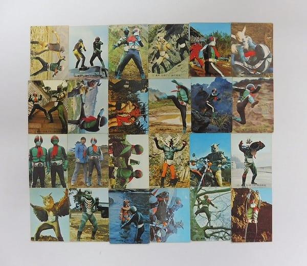 カルビー 当時物 旧 仮面ライダー カード 84 - 120 24枚