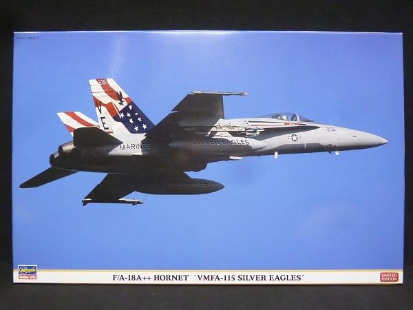 ハセガワ 1/48 F/A-18A ホーネット シルバーイーグルス