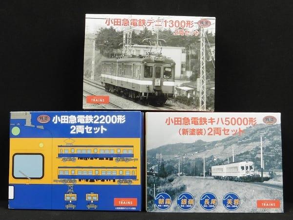 鉄道コレクション 小田急電鉄 デニ1300形 2両セット 他