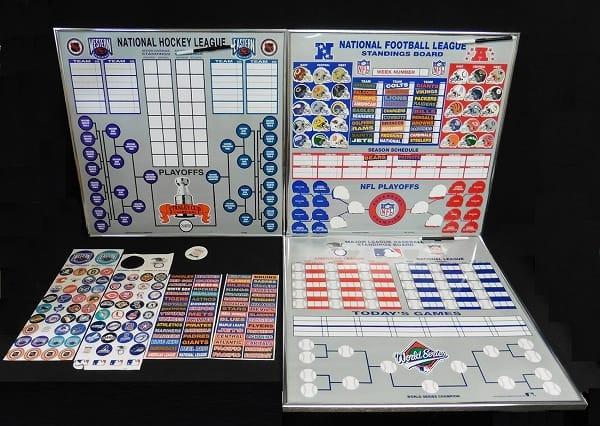 MLB NFL NHL プレイオフボード ホッケー 野球 アメフト