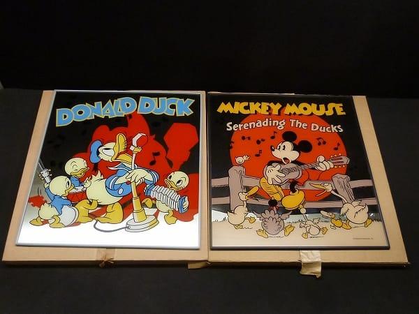 ディズニー ミッキーマウス ドナルドダック パブミラー