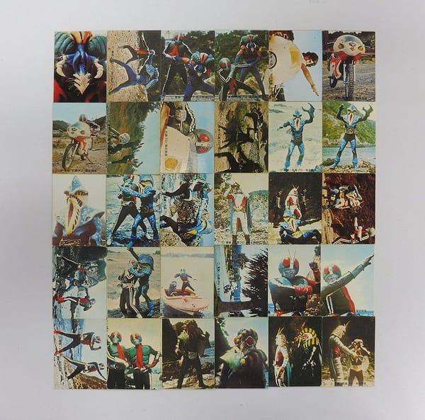 カルビー 旧 仮面ライダー カード 221 - 250 コンプ