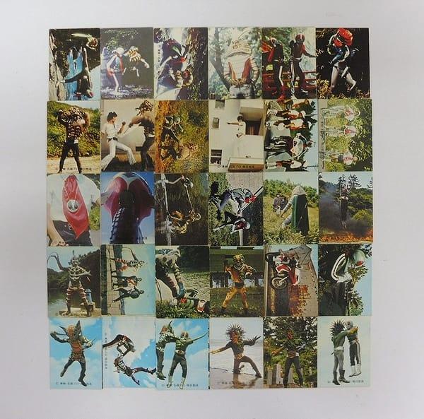 カルビー 旧 仮面ライダー カード 251 - 285 セミコンプ