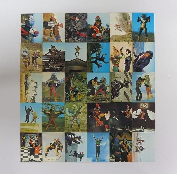 カルビー 当時物 旧 仮面ライダー カード 362 - 417