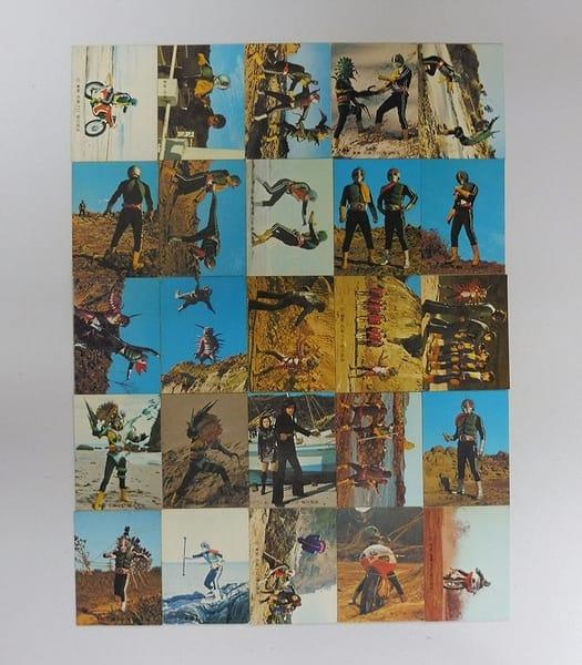 カルビー 旧 仮面ライダー カード 418 - 445 セミコンプ