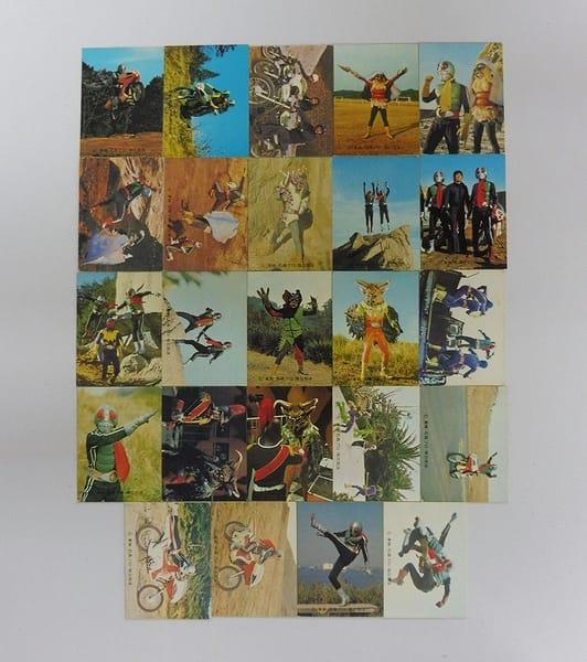 カルビー 当時物 旧 仮面ライダー カード 446 - 496