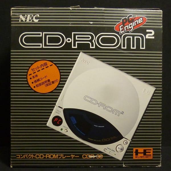 NEC PCエンジン CD-ROM2 本体 CDR-30 プレーヤー