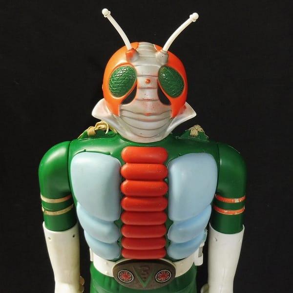 ポピー 当時 ジャンボマシンダー 仮面ライダーV3 ソフビ