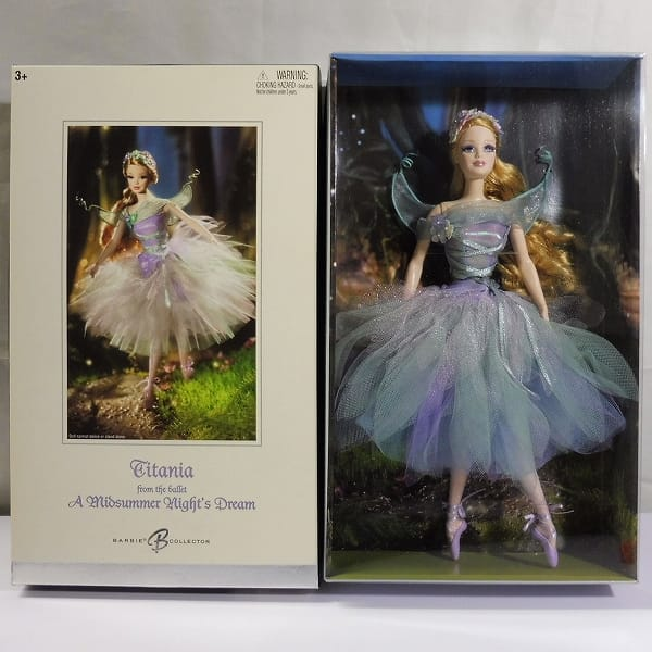 Barbie タイタニア バレエ 真夏の夜の夢 / バレリーナ