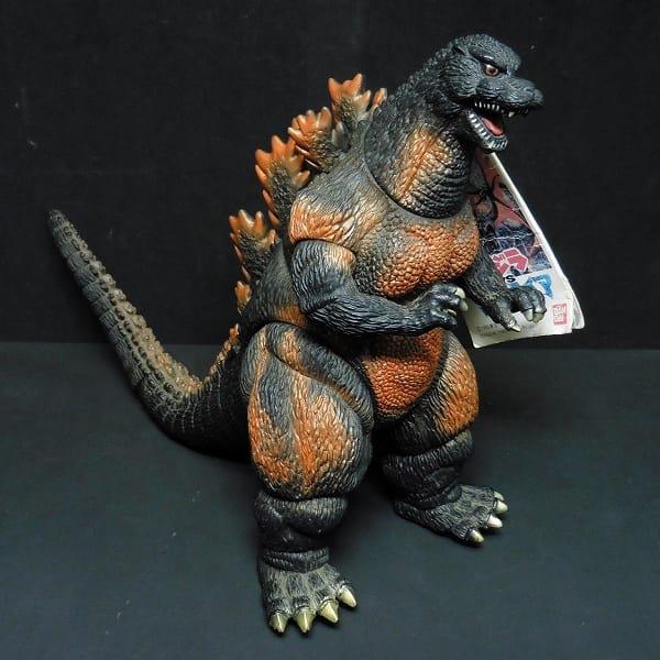 1995 バーニングゴジラ ソフビ タグ付き / 怪獣王 東宝