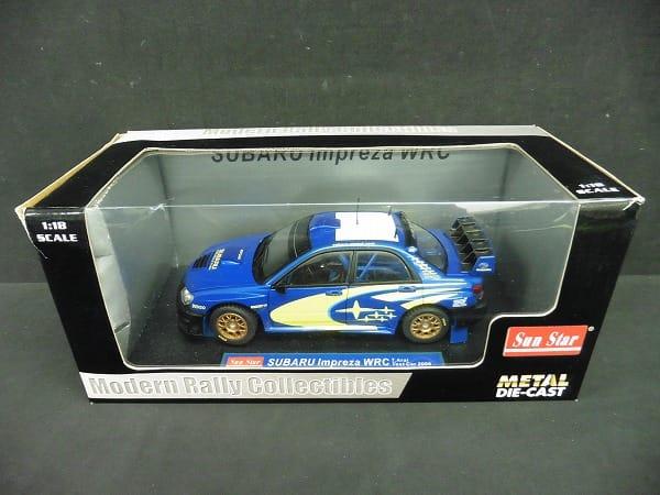 サンスター 1/18 スバル インプレッサ WRC 2006 T.Arai