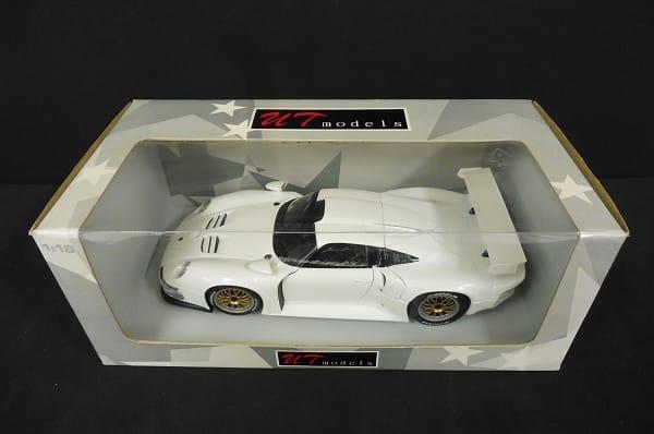 1/18 ポルシェ 911 GT1 ミニカー PORSCHE ダイキャスト