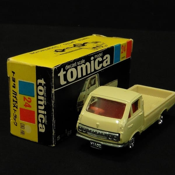 トミー 黒箱トミカ トヨタハイエーストラック 日本製