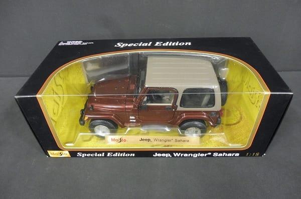 1/18 Jeep Wrangler Sahara ジープ ミニカー マイスト