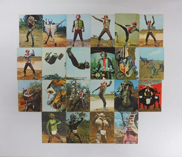 カルビー 当時物 旧 仮面ライダー カード 33 – 70 22枚