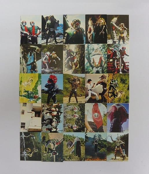 カルビー 旧 仮面ライダー カード 246 – 270 コンプ