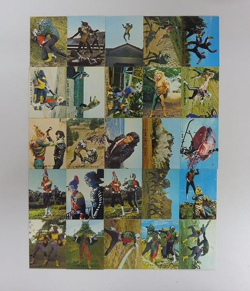 カルビー 旧 仮面ライダー カード 372 – 396 コンプ