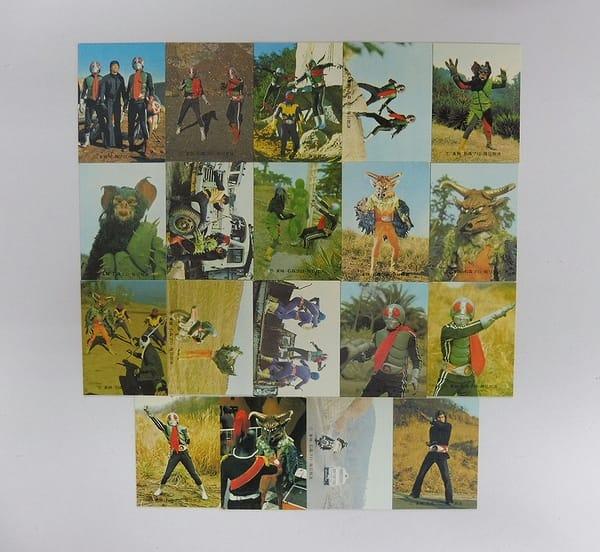 カルビー 旧 仮面ライダー カード 467 – 486 セミコンプ