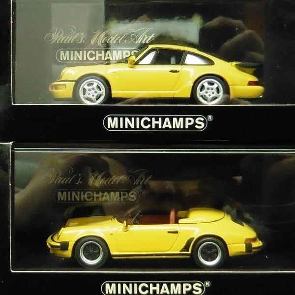 MINICHAMPS 1/43 ポルシェ 911 ターボ スピードスター