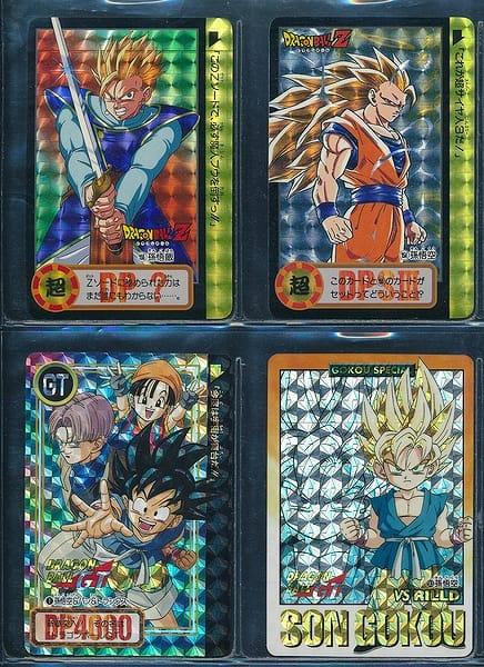 ドラゴンボール GT カードダス 両面キラ 155 154 1 93