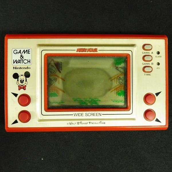 任天堂 ゲームウォッチ ミッキーマウス / ディズニー