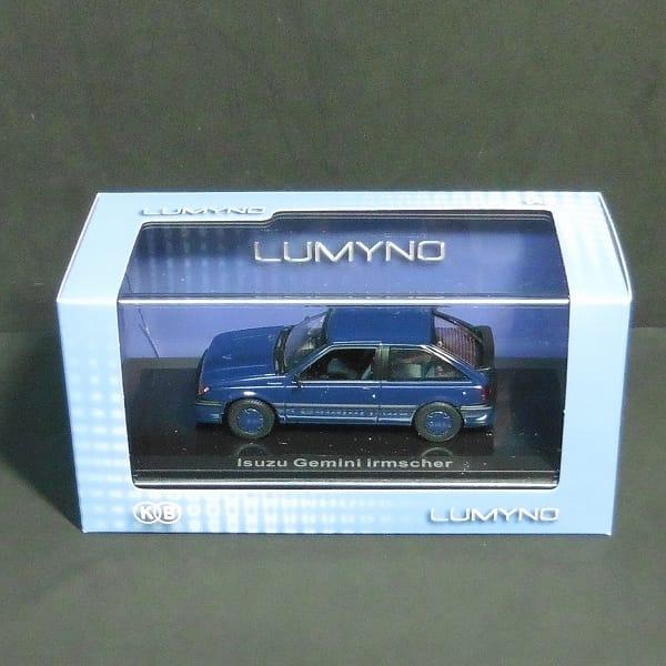 ノレブ ルミノ 1/43 いすゞ ジェミニ イルムシャー 1987