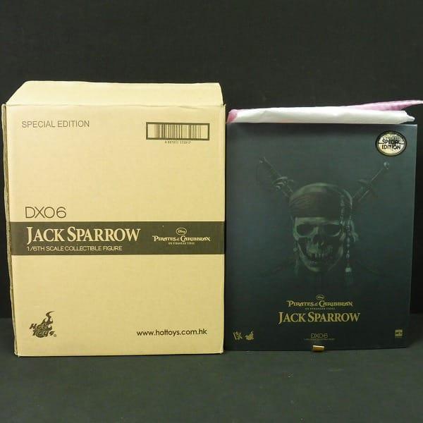ホットトイズ 1/6 DX06 ジャック・スパロウ 生命の泉