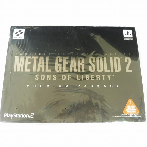 コナミ PS2 メタルギアソリッド2 プレミアムパッケージ