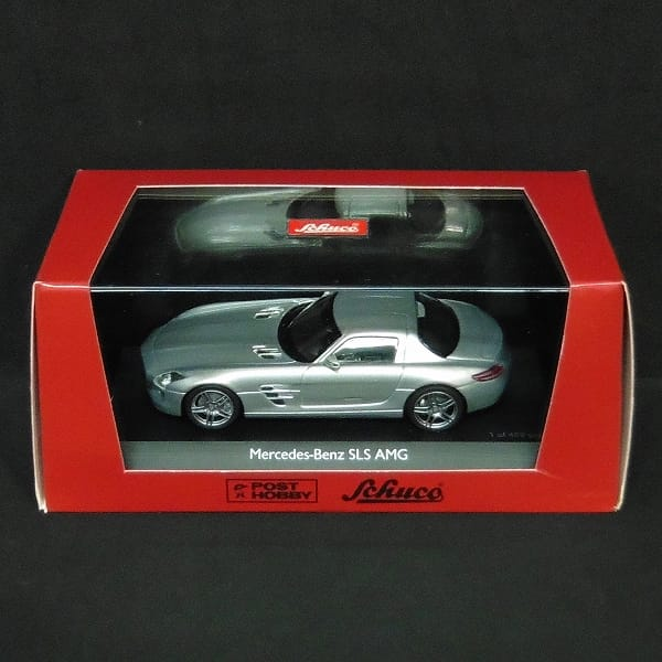 シュコー 1/43 メルセデスベンツ SLS AMG シルバー