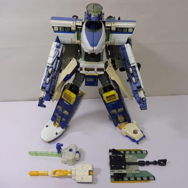 TF カーロボット C-015 3体合体公安官 JRX / 新幹線