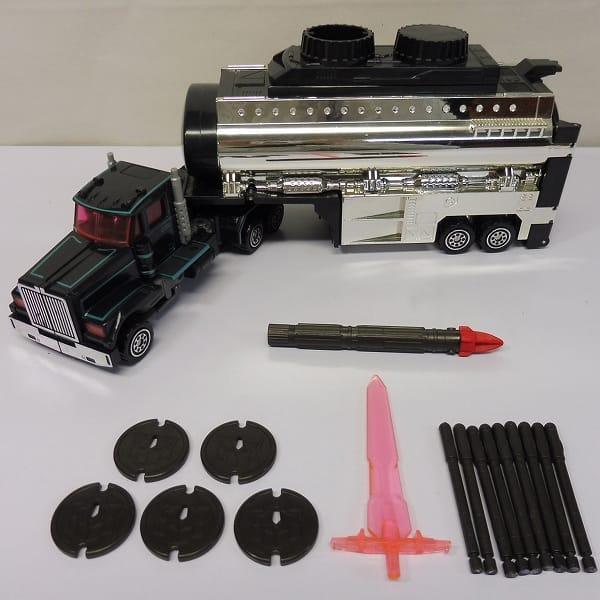 TF カーロボット 暗黒司令官 ブラックコンボイ / D-012
