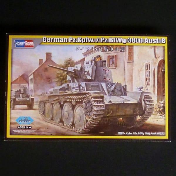 ホビーボス 1/35 ドイツ 38(t) 戦車 B型