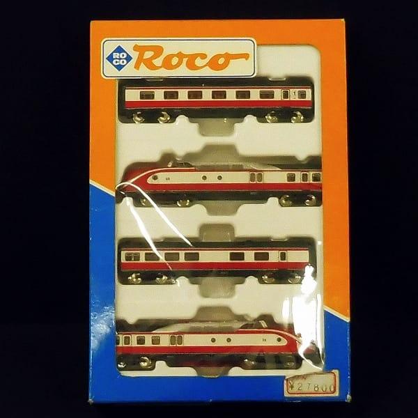 ROCO Nゲージ 23007 DR TEE 4両セット VT11.5 / ロコ