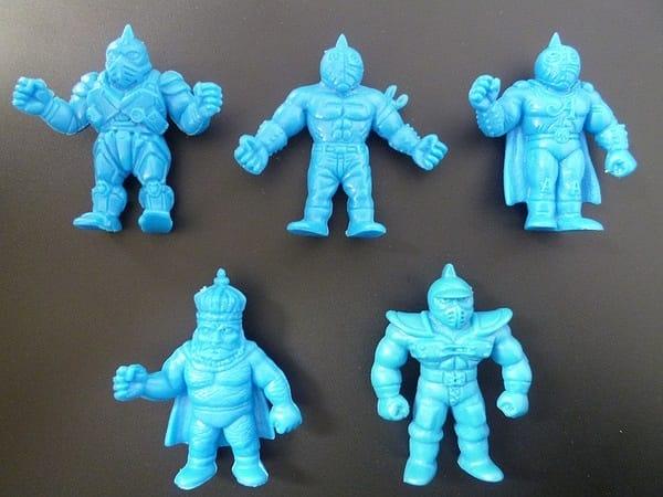 キン消し バトルコレクション バトコレ 青色 5体